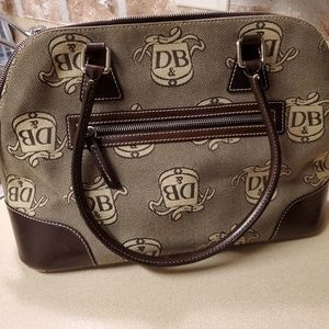 Dooney and Bourke D&B canvas handbag